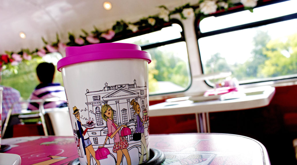 B Bakery Afternoon Tea Tour Bus