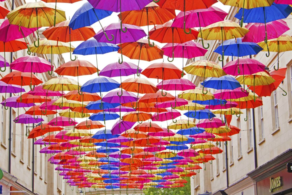 How to Find Bath's Umbrella Street