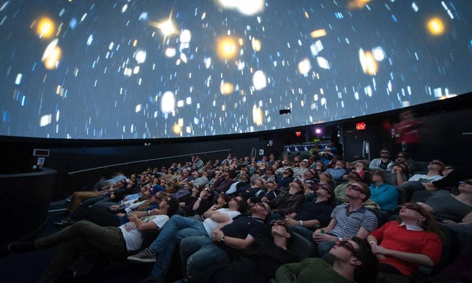 Planetarium Nights 3D at Bristol We The Curious - image source 365 Bristol