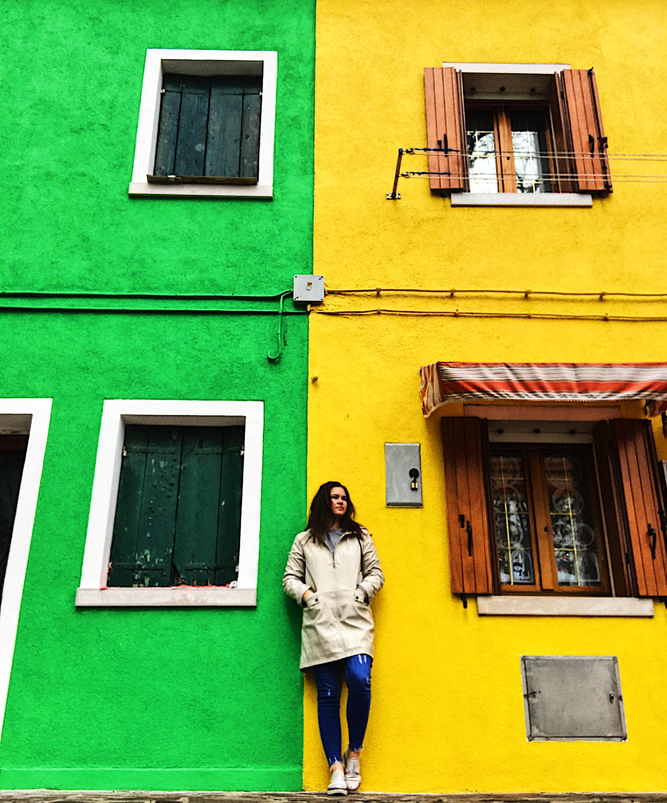 Burano Coloured Houses