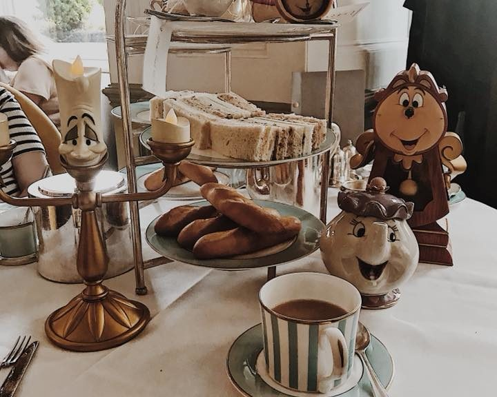 Town House Kensington Tale as Old as Time Beauty and the Beast Afternoon Tea