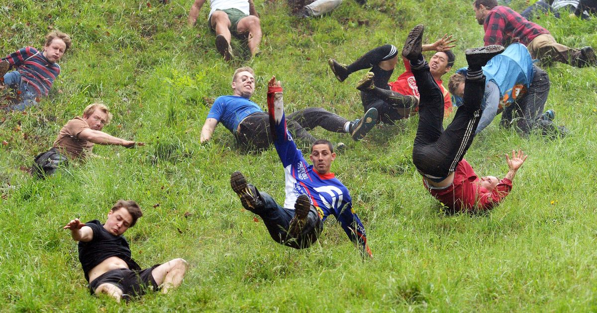 Gloucester Cheese Rolling Photographed by Gloucestershire Live