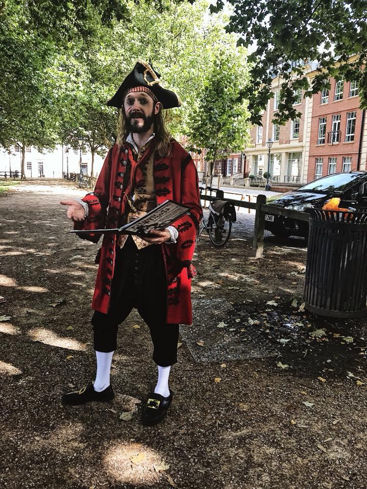 Actor Gerard Cooke in Queens Square