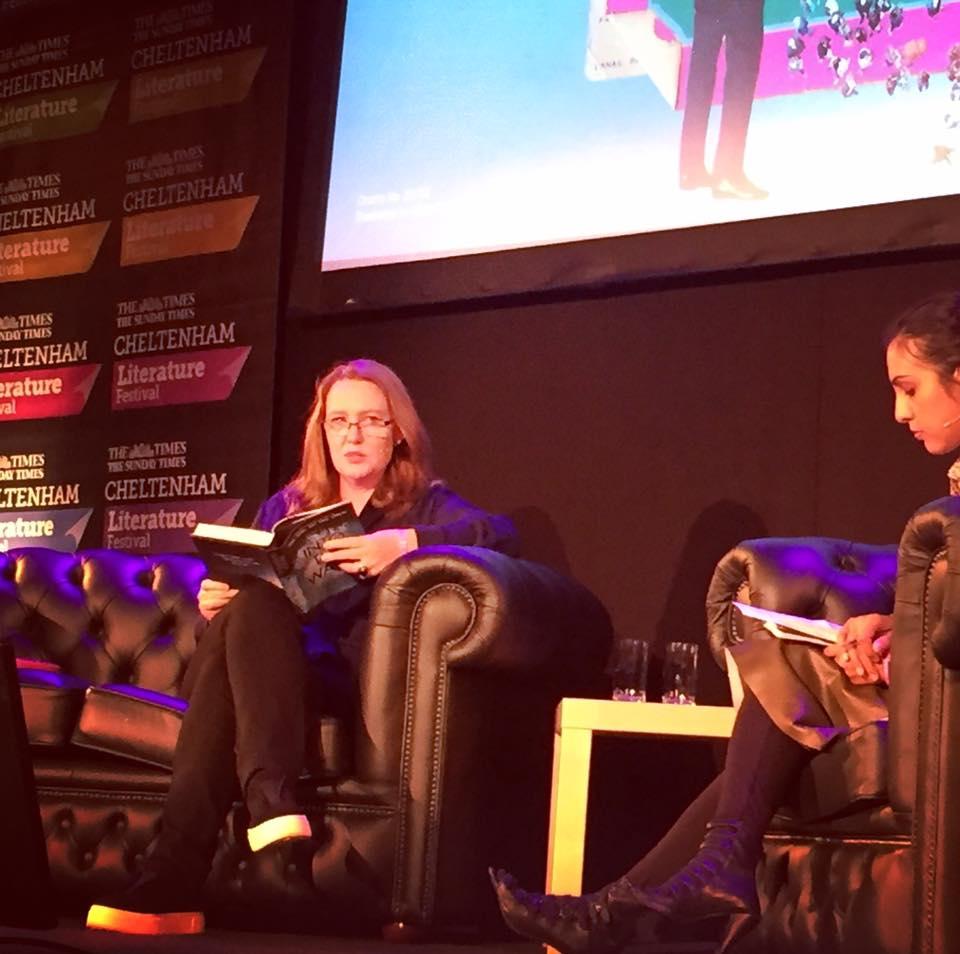 Paula Hawkins at Cheltenham Literature Festival