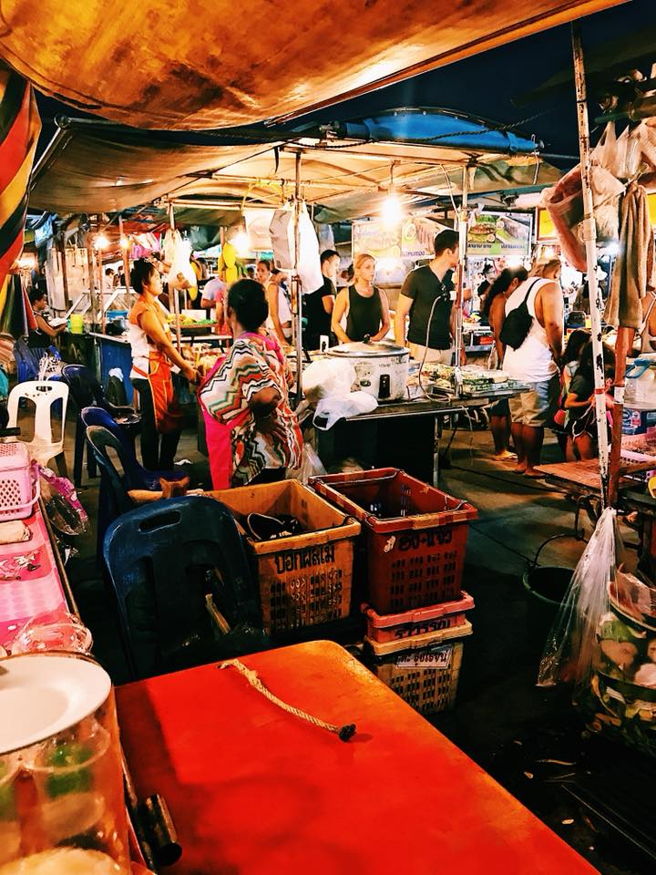 Phantip Night Market, Koh Phangan