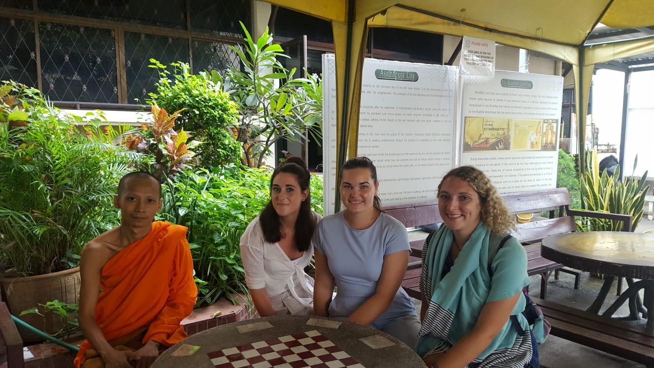 Monk Chat in Thailand