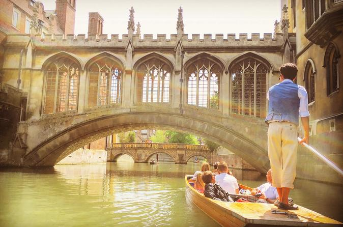 Punting Tours in Cambridge