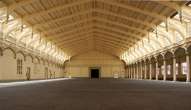 The Passenger Shed, Bristol interior view to show space for outdoor cinema