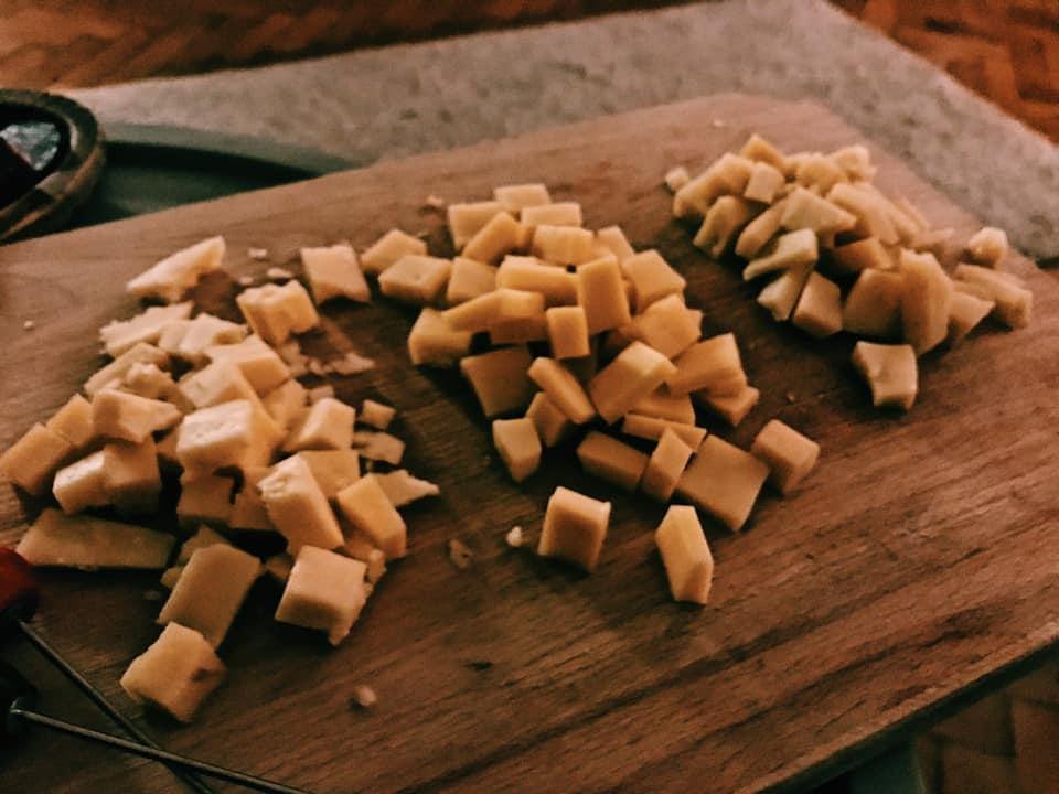 Romanian matured cheese