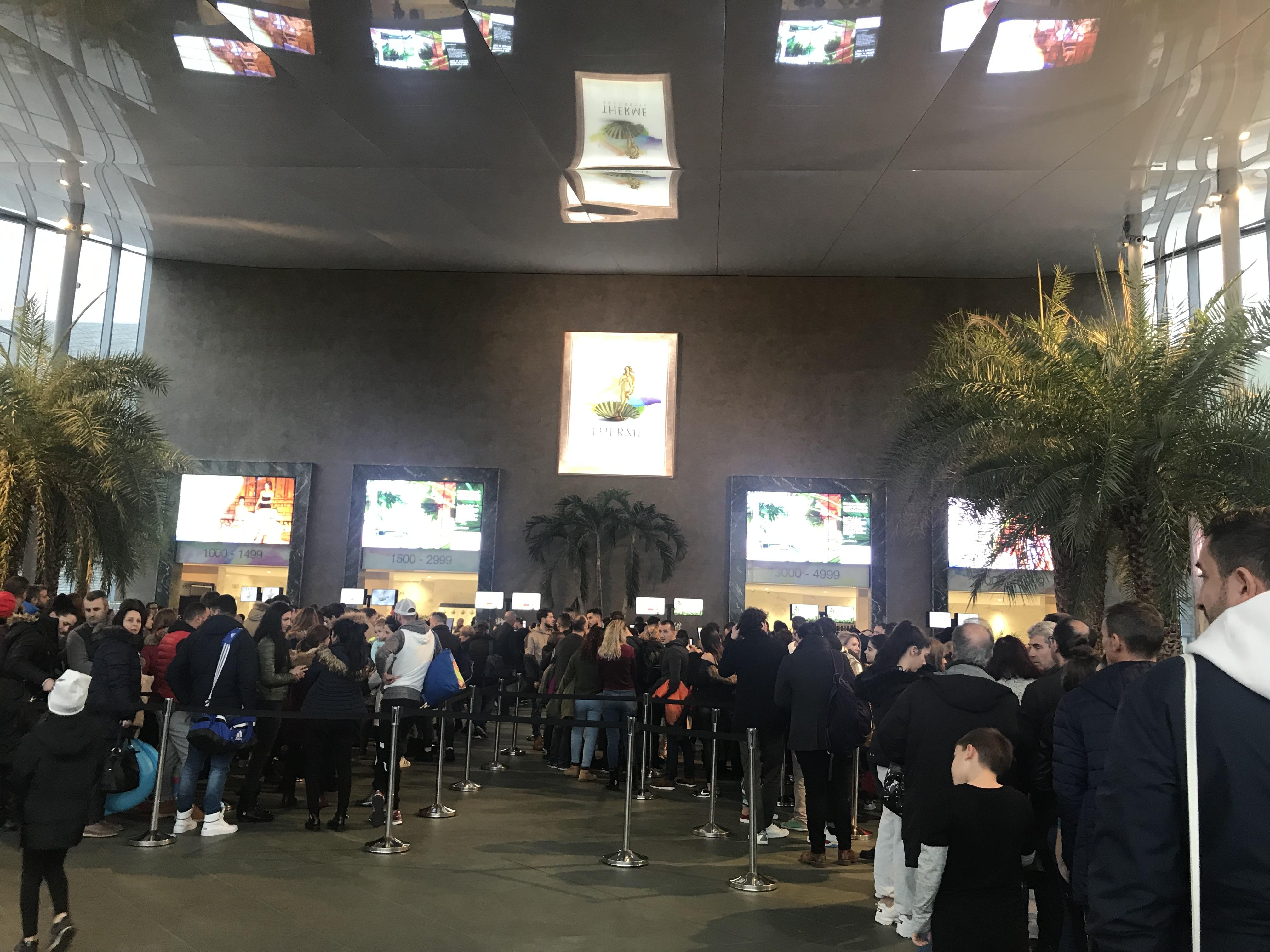 Therme Bucuresti Entrance