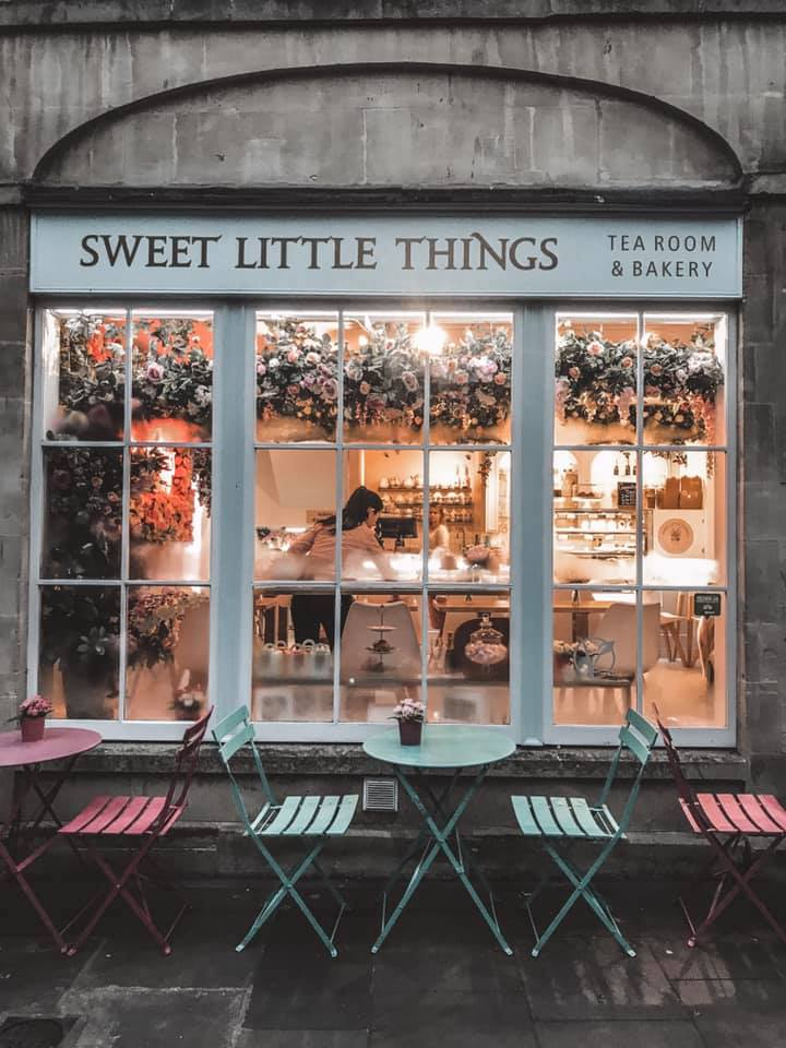 Restaurants in Bath - Sweet Little Things Restaurant in Bath Exterior