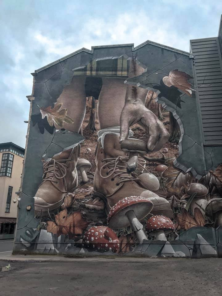 A Section of Fellow Glasgow Residents Mural