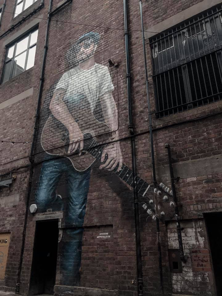 Glasgow The Musician Mural #25