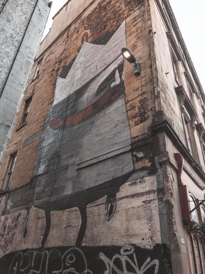 Glasgow The Lost Giant Mural