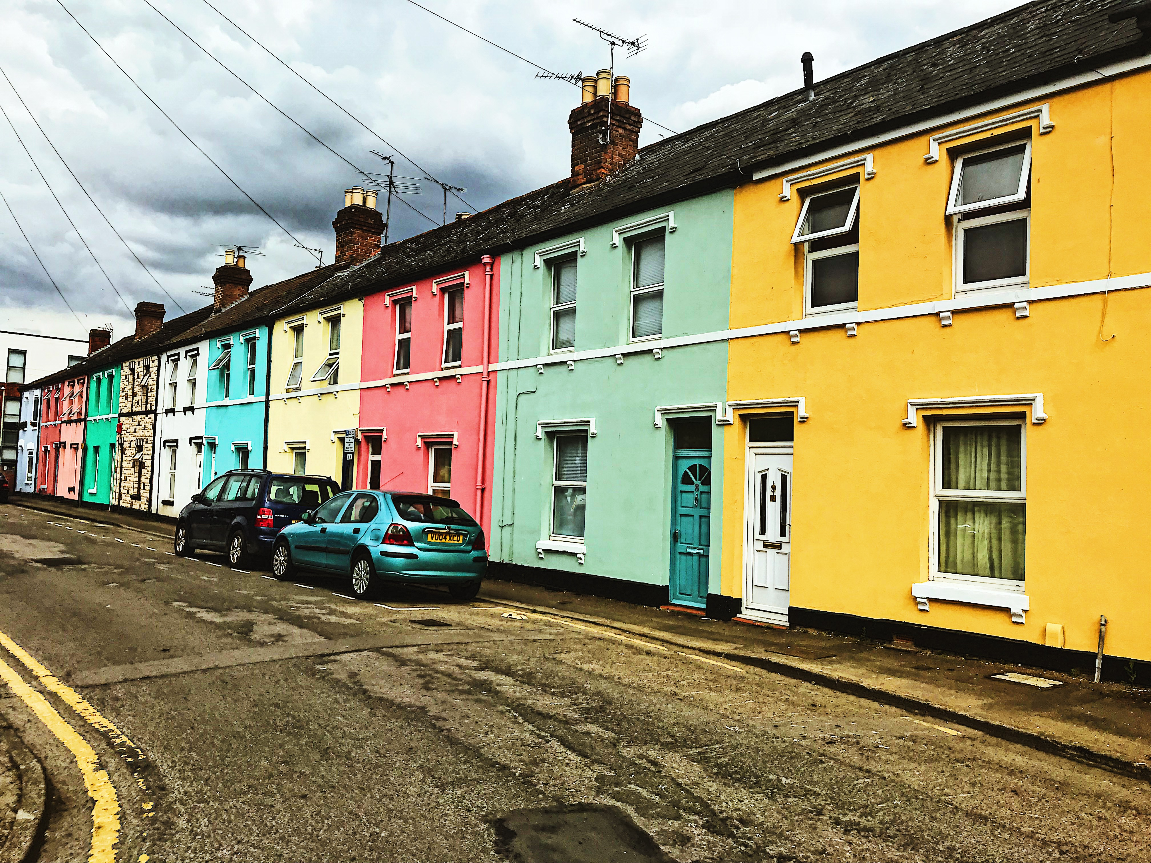 Nettleton Road Coloured Houses