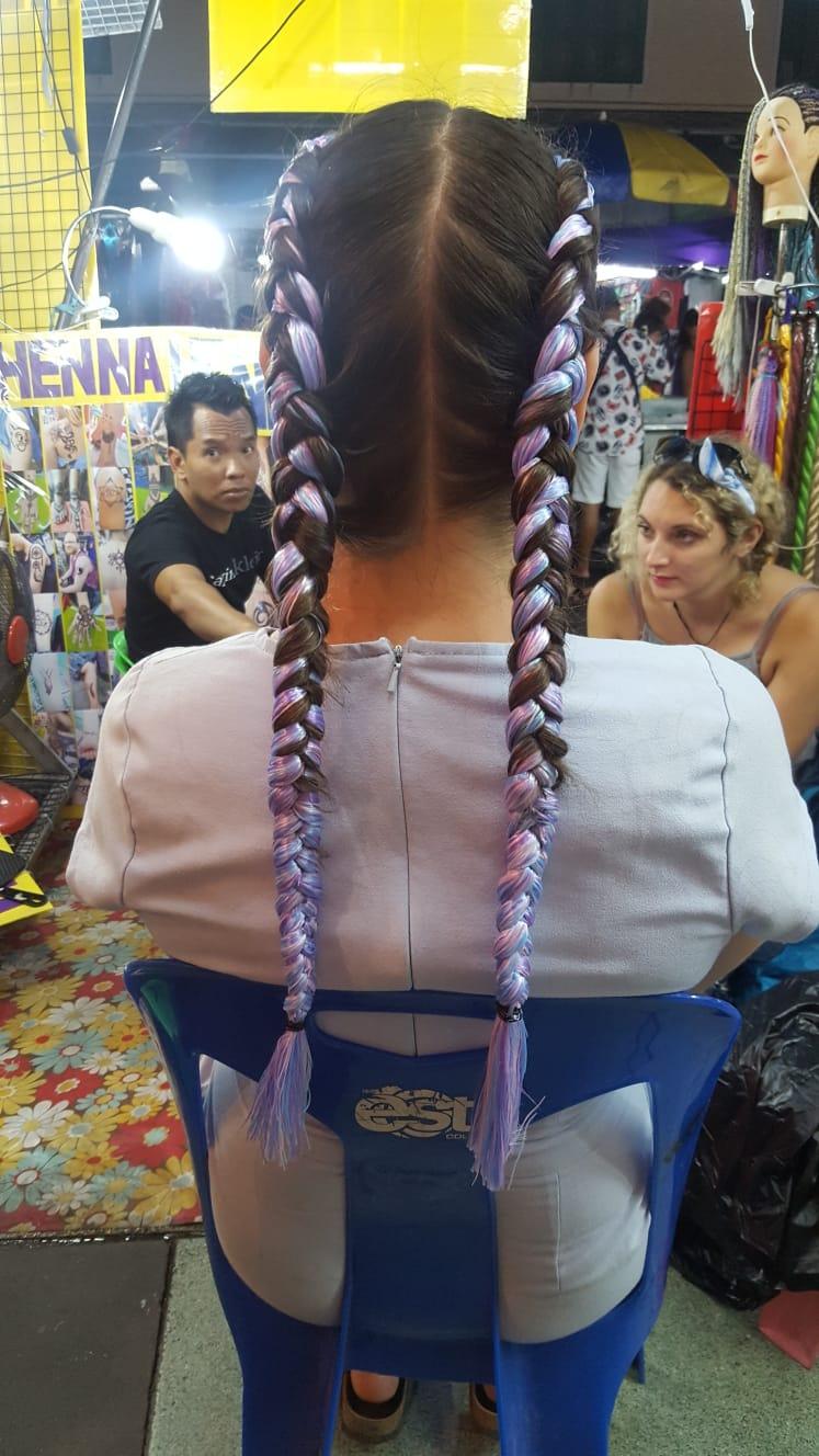 Kao San Road Hairstyle