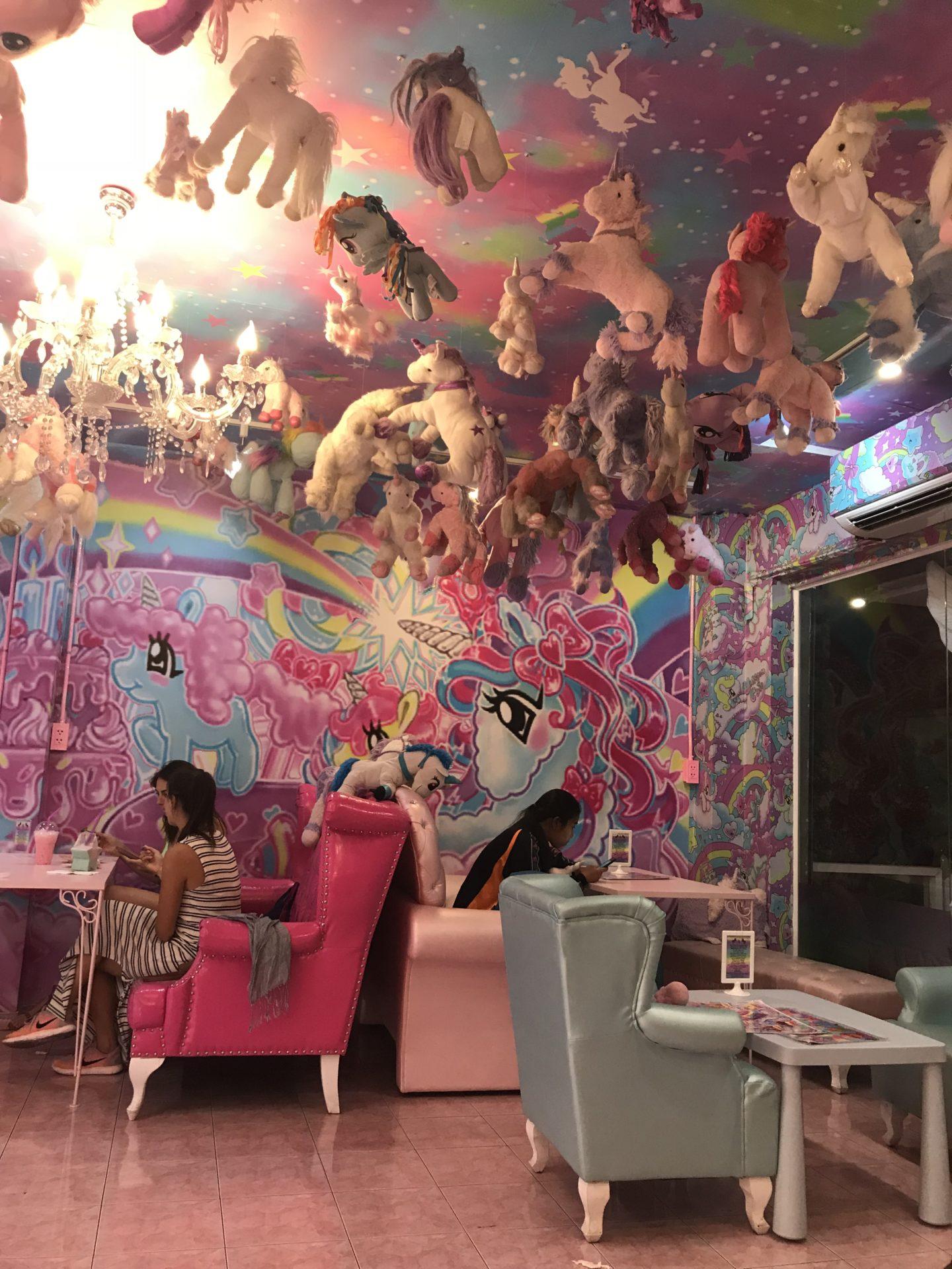 Thailand Unicorn Cafe