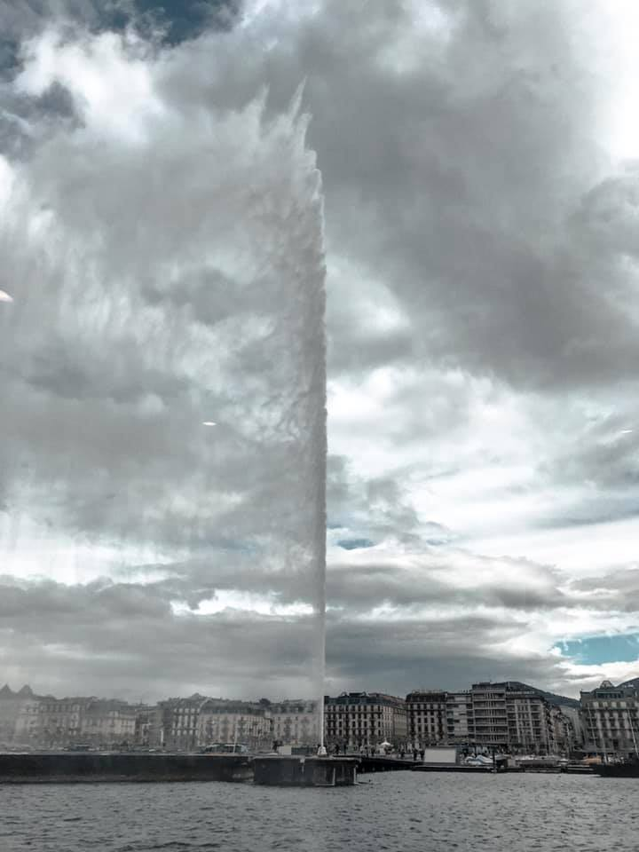 Free things to do in Geneva - Jet D'eau