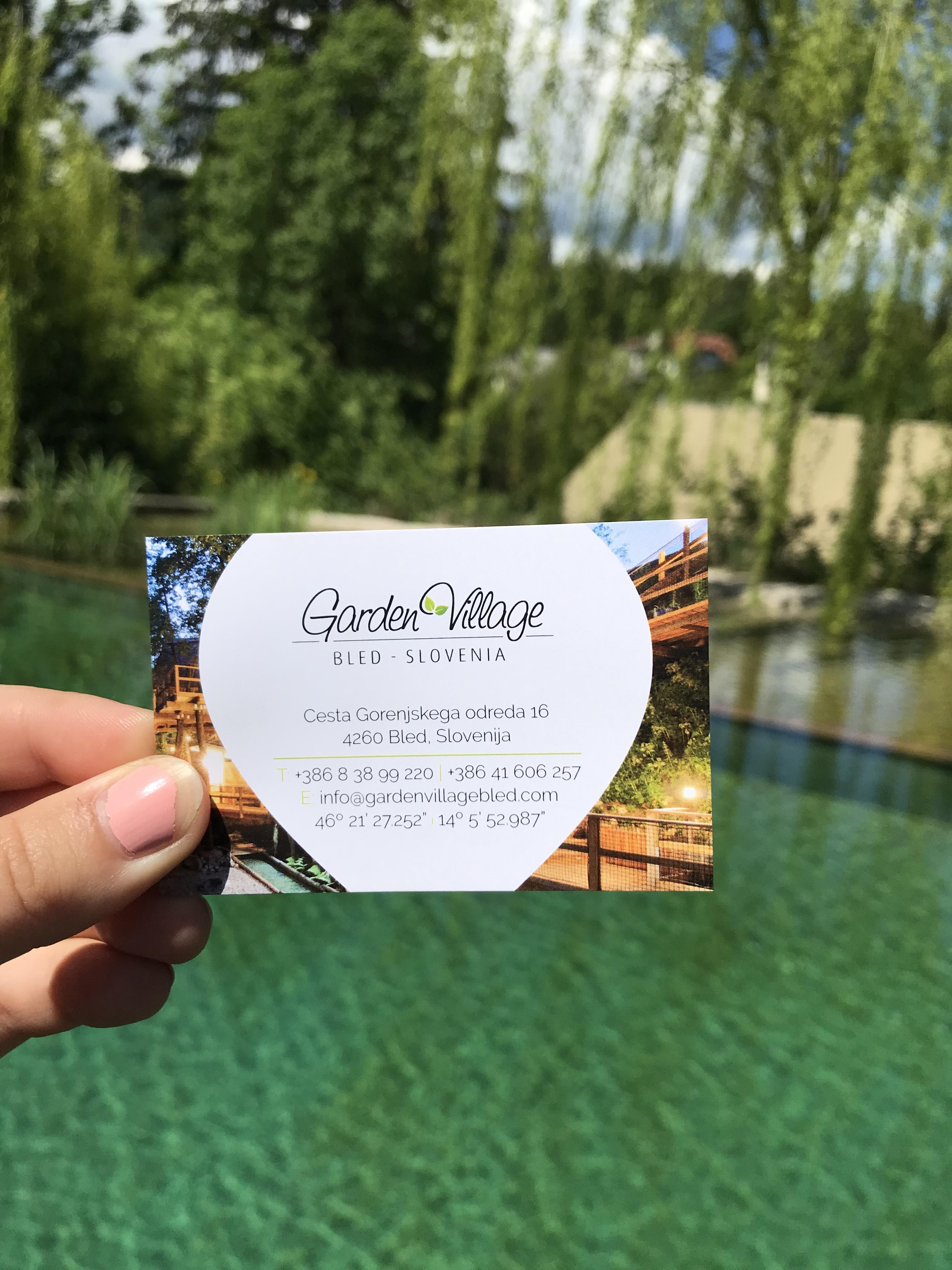 Slovenia's Garden Village Glamping Tent