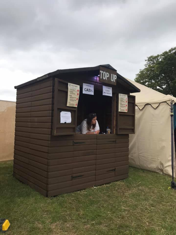 Top Up Booth at El Dorado Festival