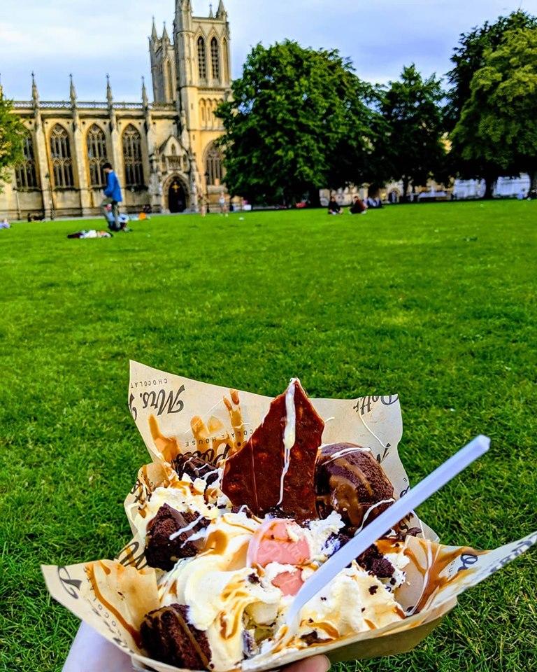 Takeaway Sundae From Mrs Potts Chocolate House Image Credit