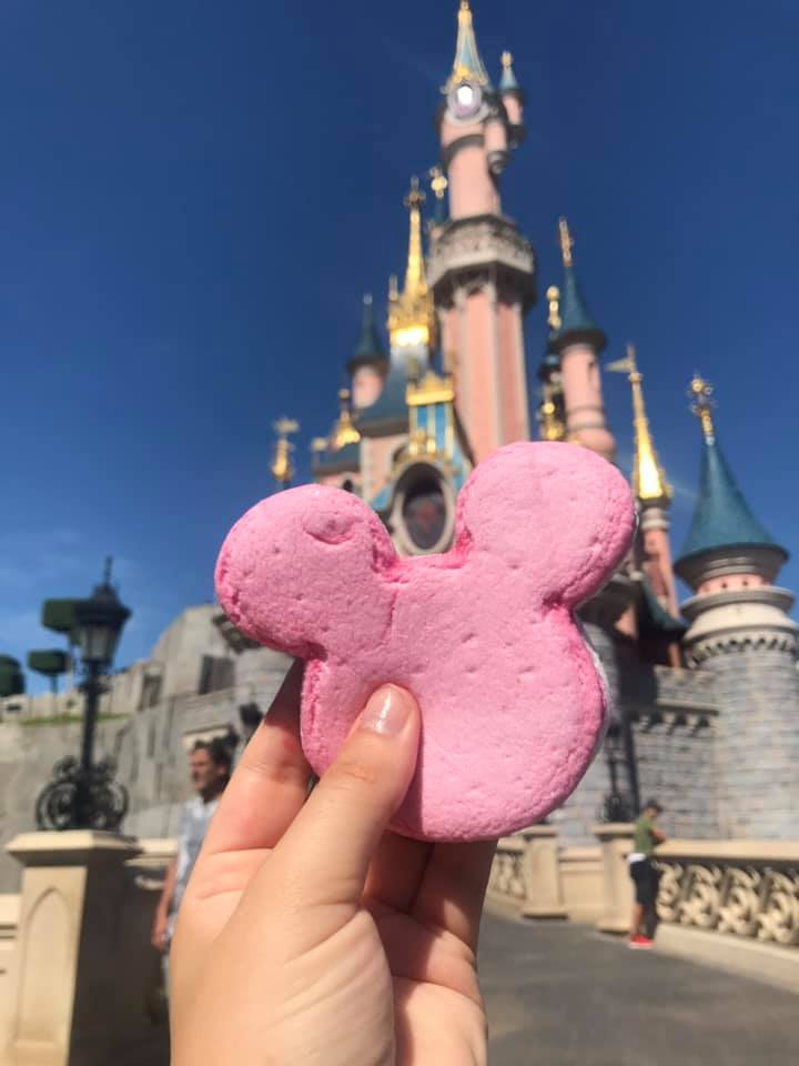 Mickey Mouse shaped Marshmallow from Disneyland Paris