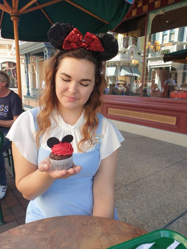 Mickey Cupcake from Market House Deli, Disneyland Paris