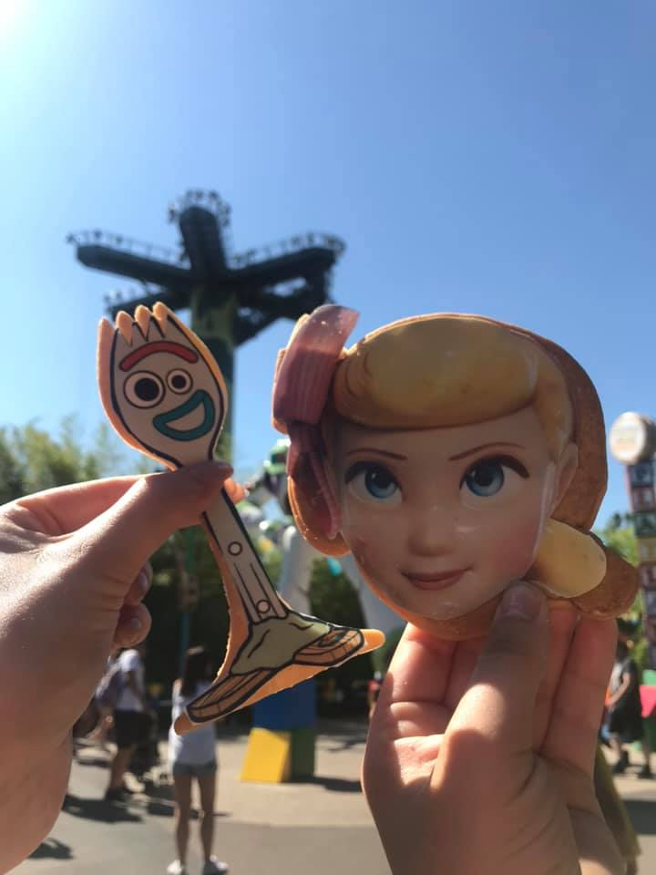Bo Peep and Forkie Shortbread from Disneyland Paris