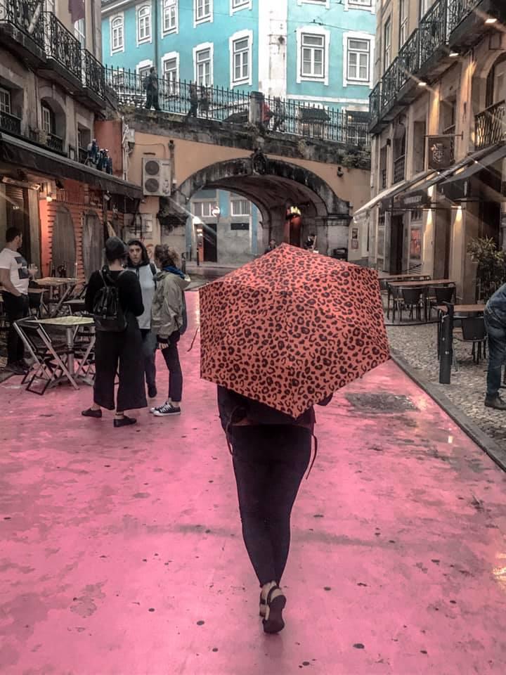 Lisbon's Pink Street