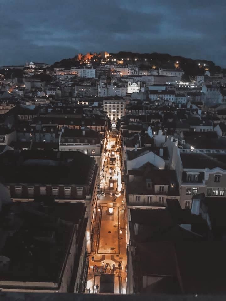 Santa Justa Lift View