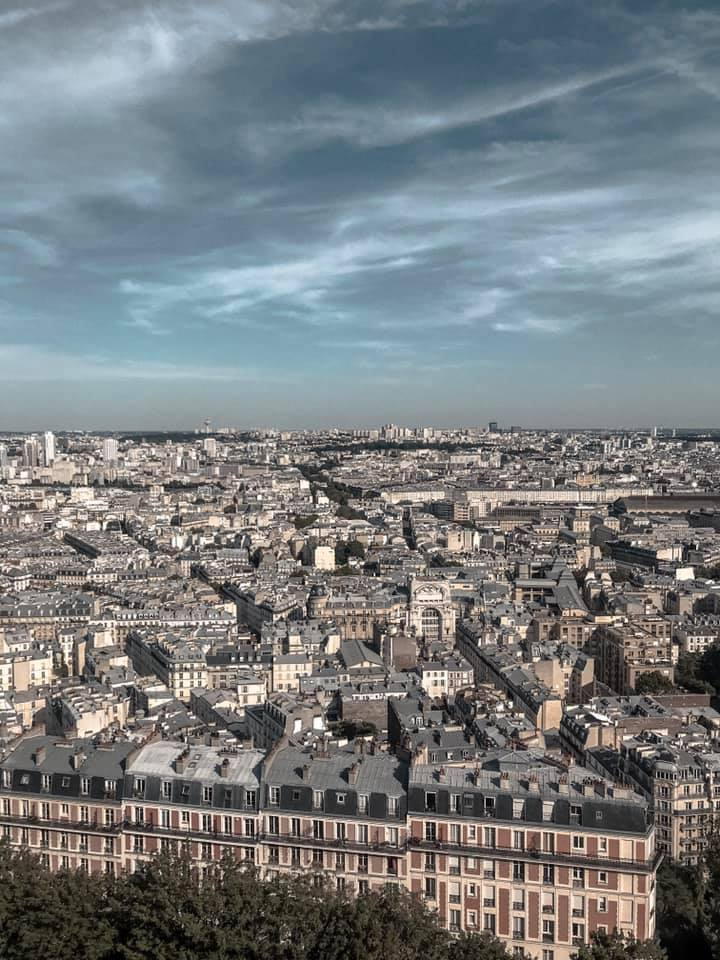 Rooftop View from Sacré-Cœur, Montmartre