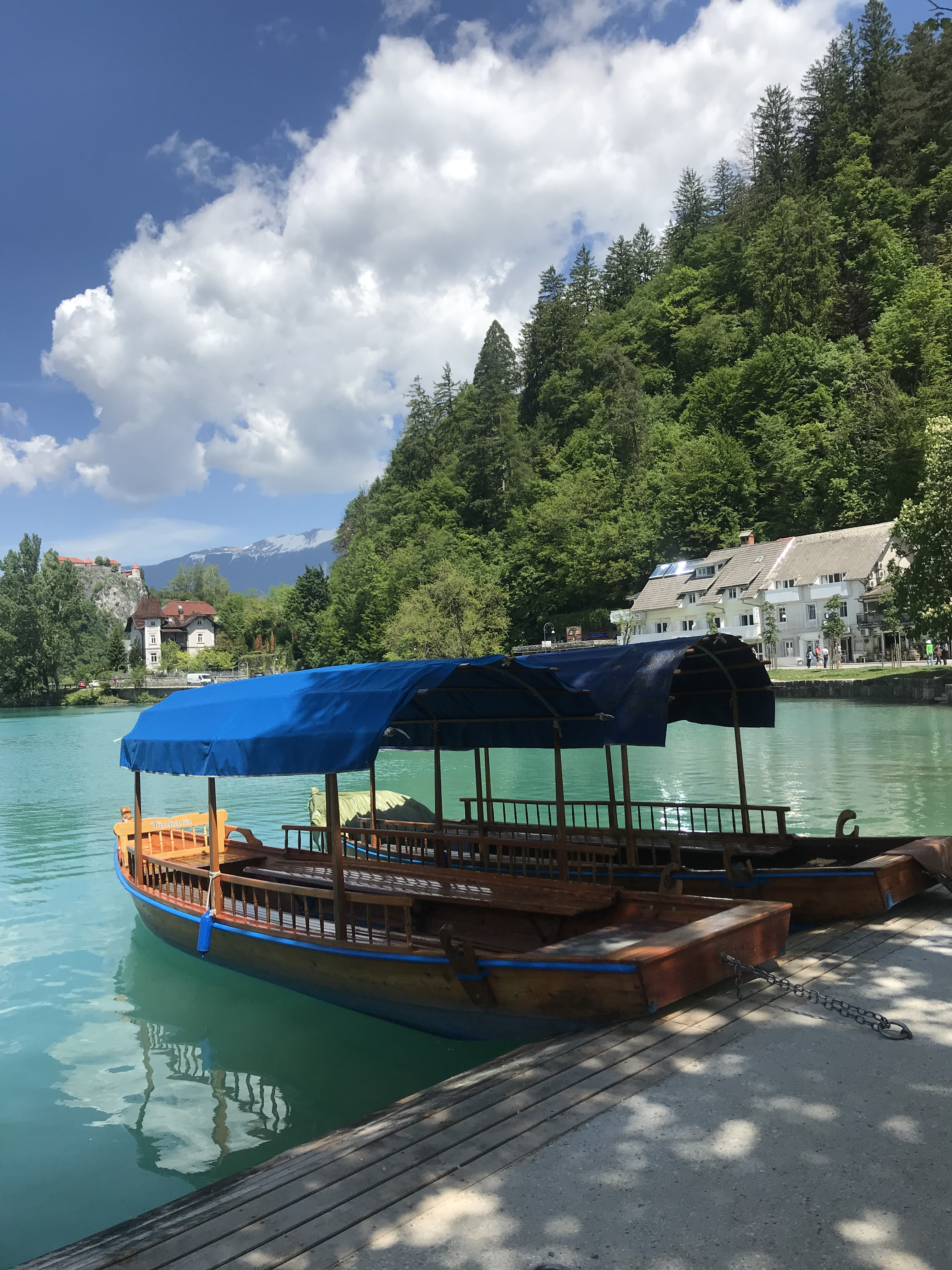 Pletna Boat on Lake Bled