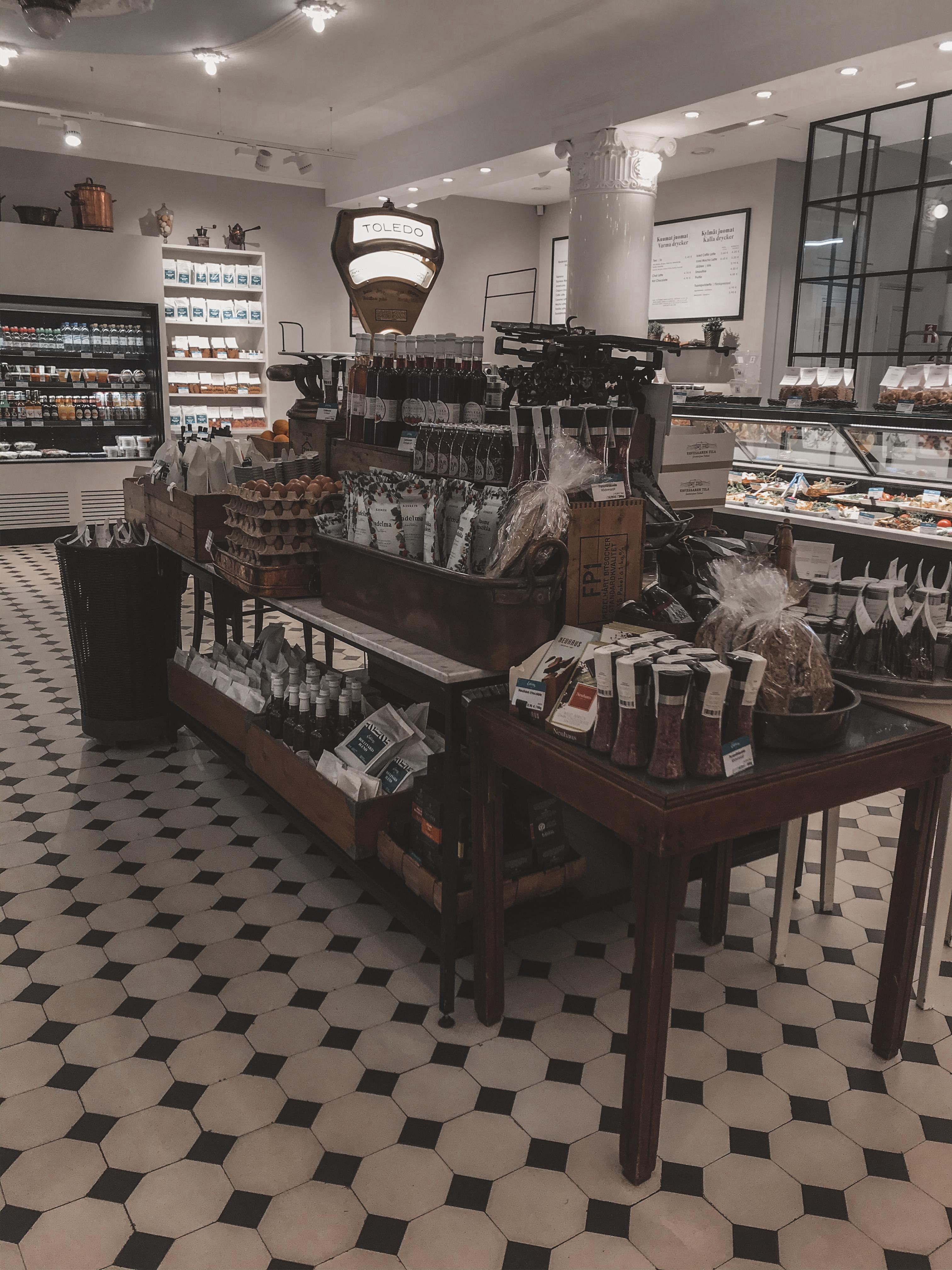 Cafe Ekberg in Helsinki, Finland