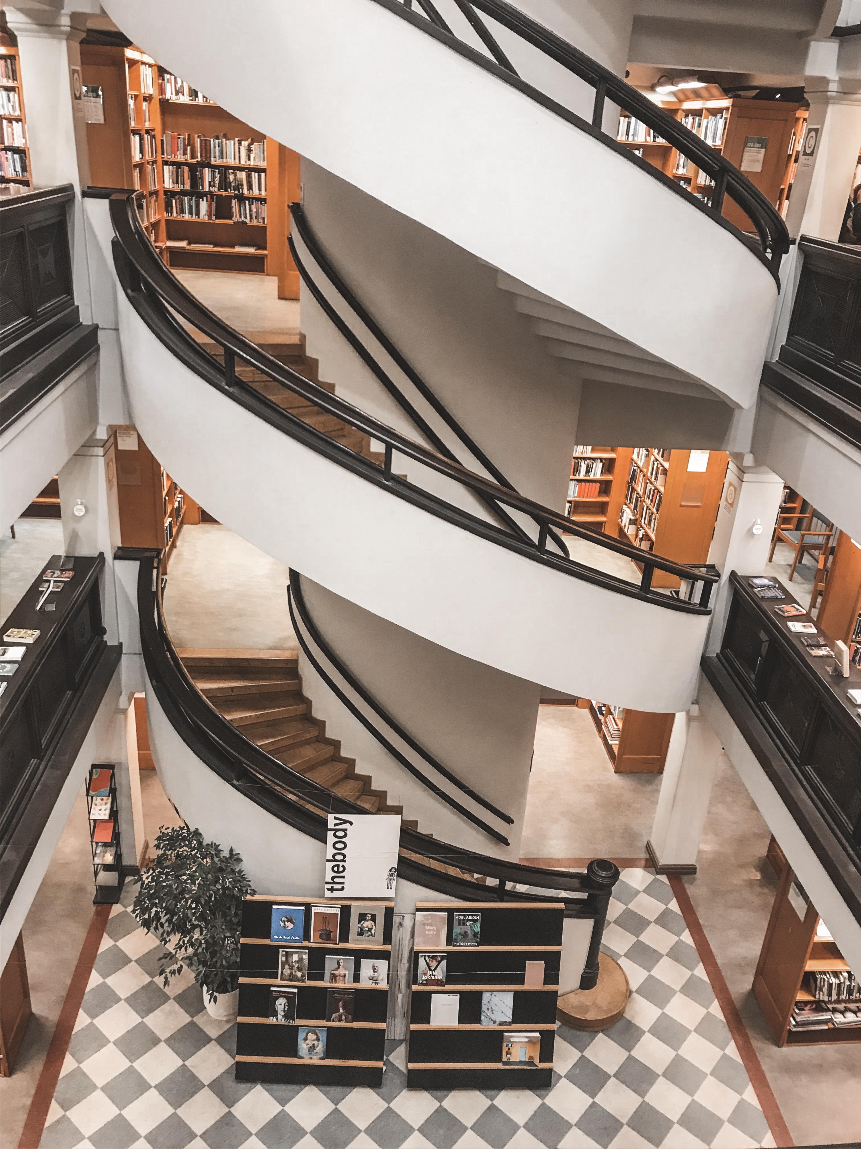 Rikhardinkatu Library in Helsinki, Finland