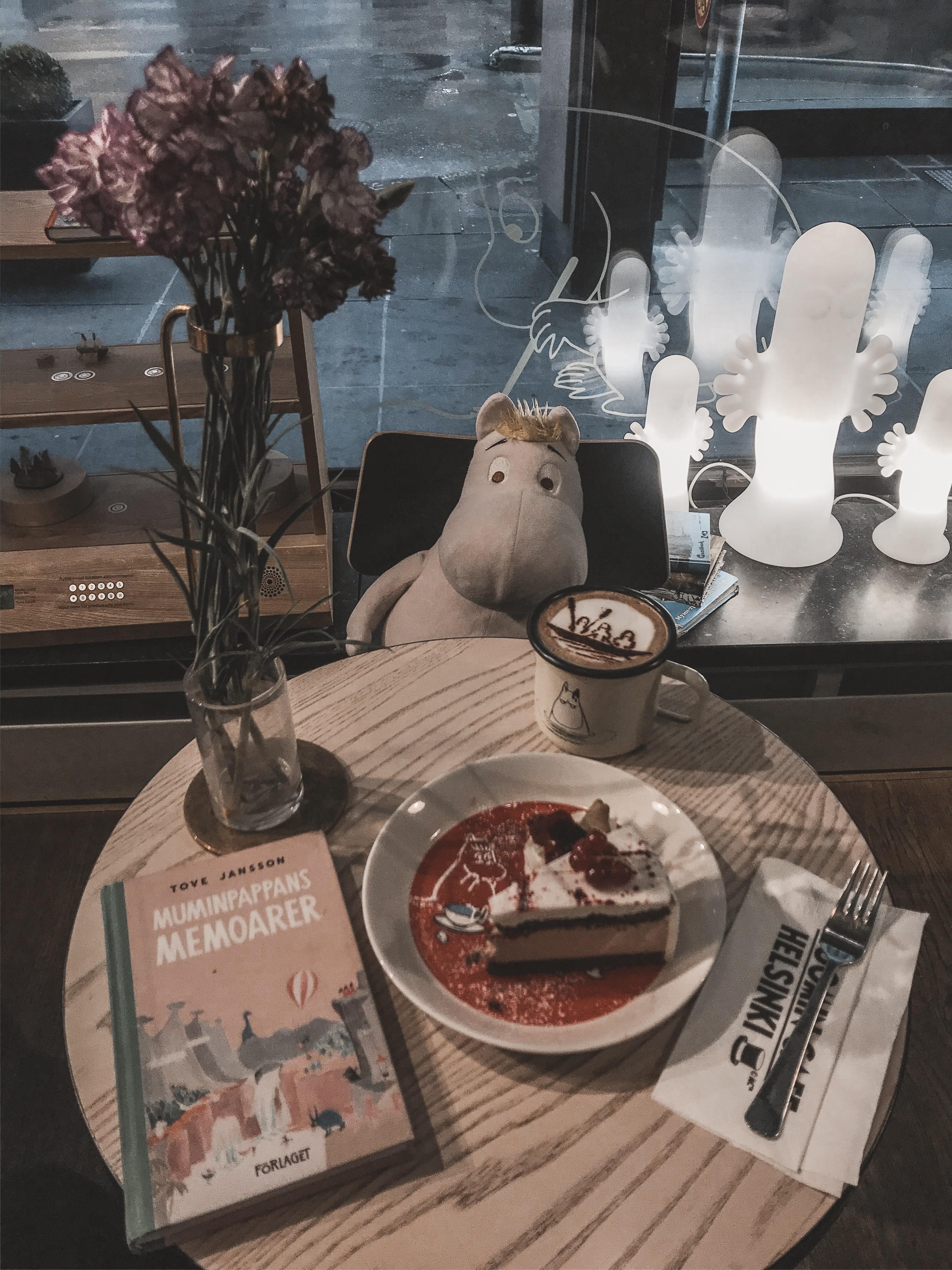Moomin Café in Helsinki, Finland