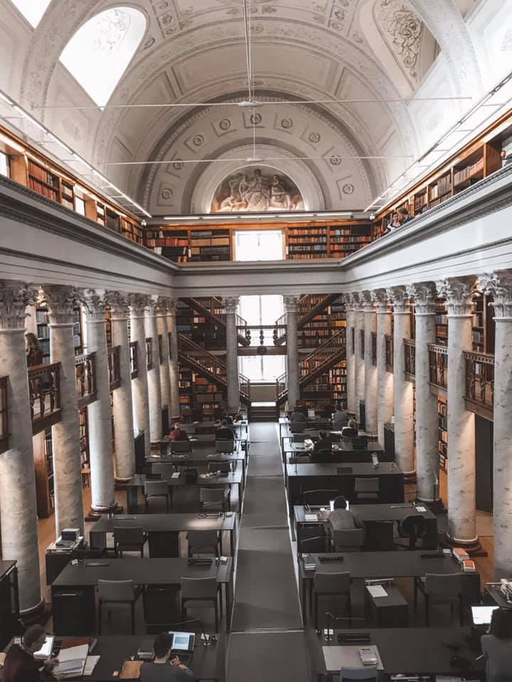 National Library of Finland in Helsinki Finland