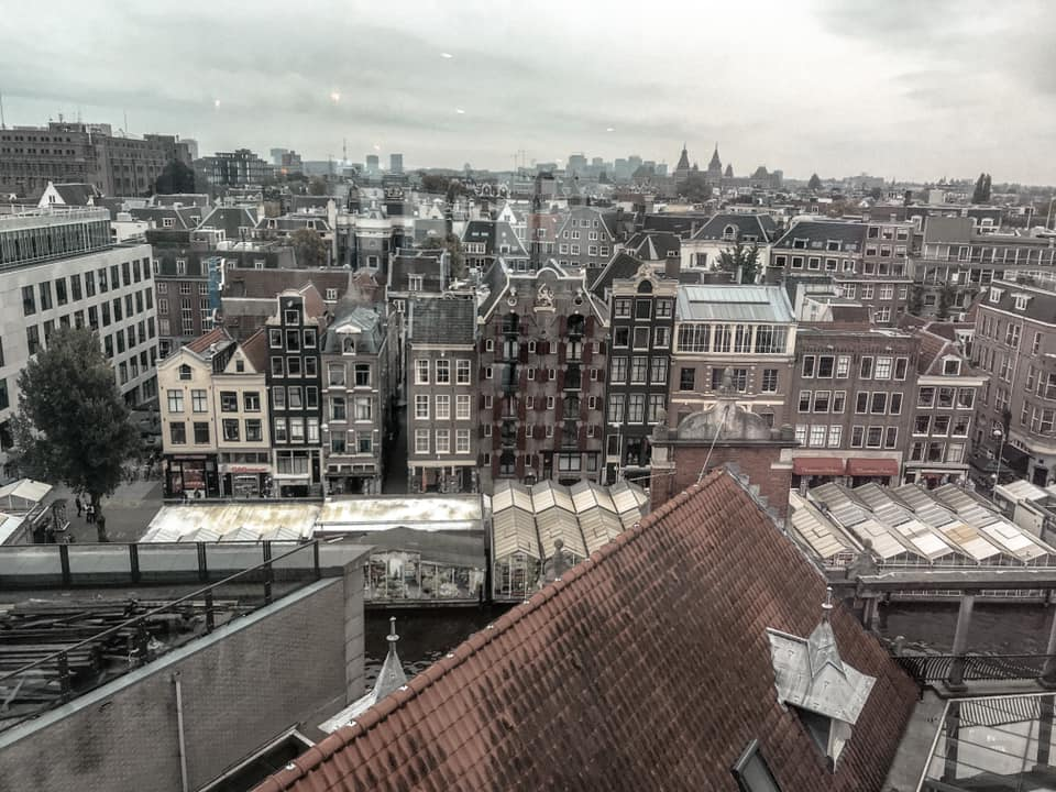 Blue Amsterdam Rooftop Panoramic Views
