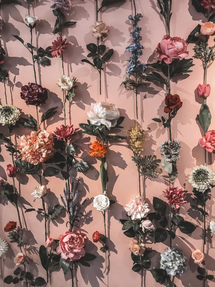Polaberry Flower Wall