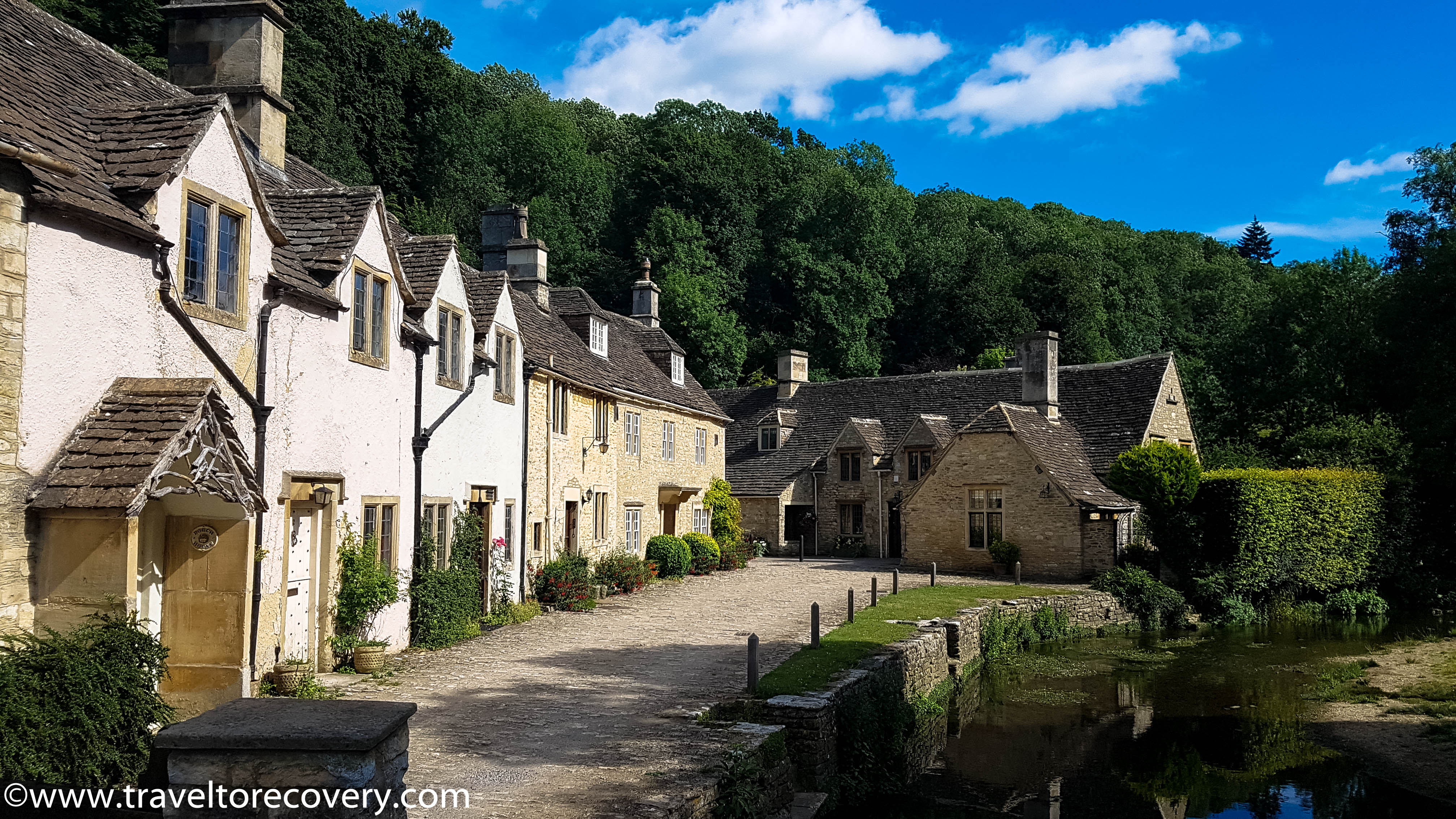 Road trips to Castle Combe by Travel to Recovery