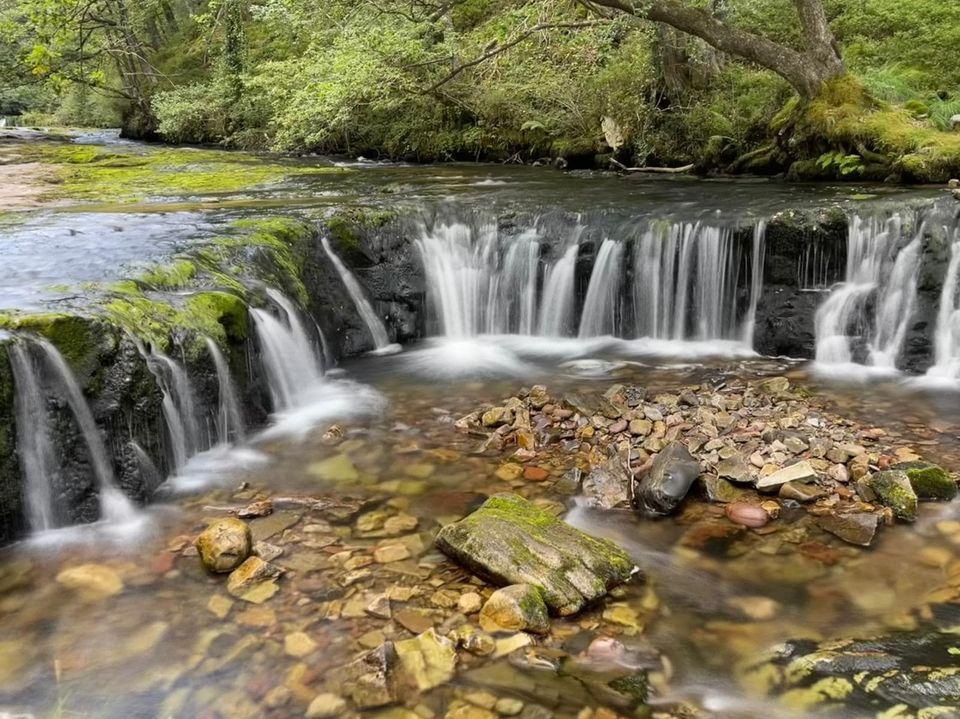 Hiking the Brecon Beacons Waterfalls at Pontneddfechan